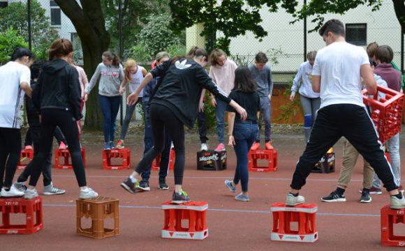 Sportfest mit holländischen Besuchern
