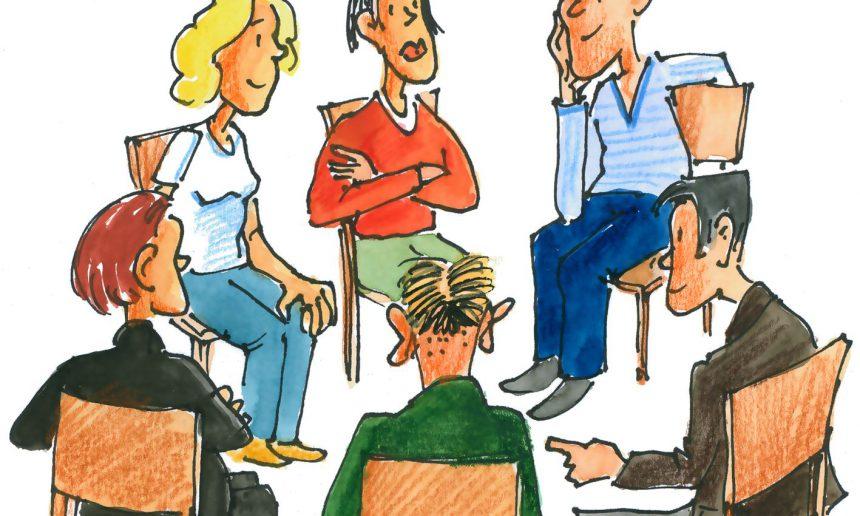Treffen des Fördervereins