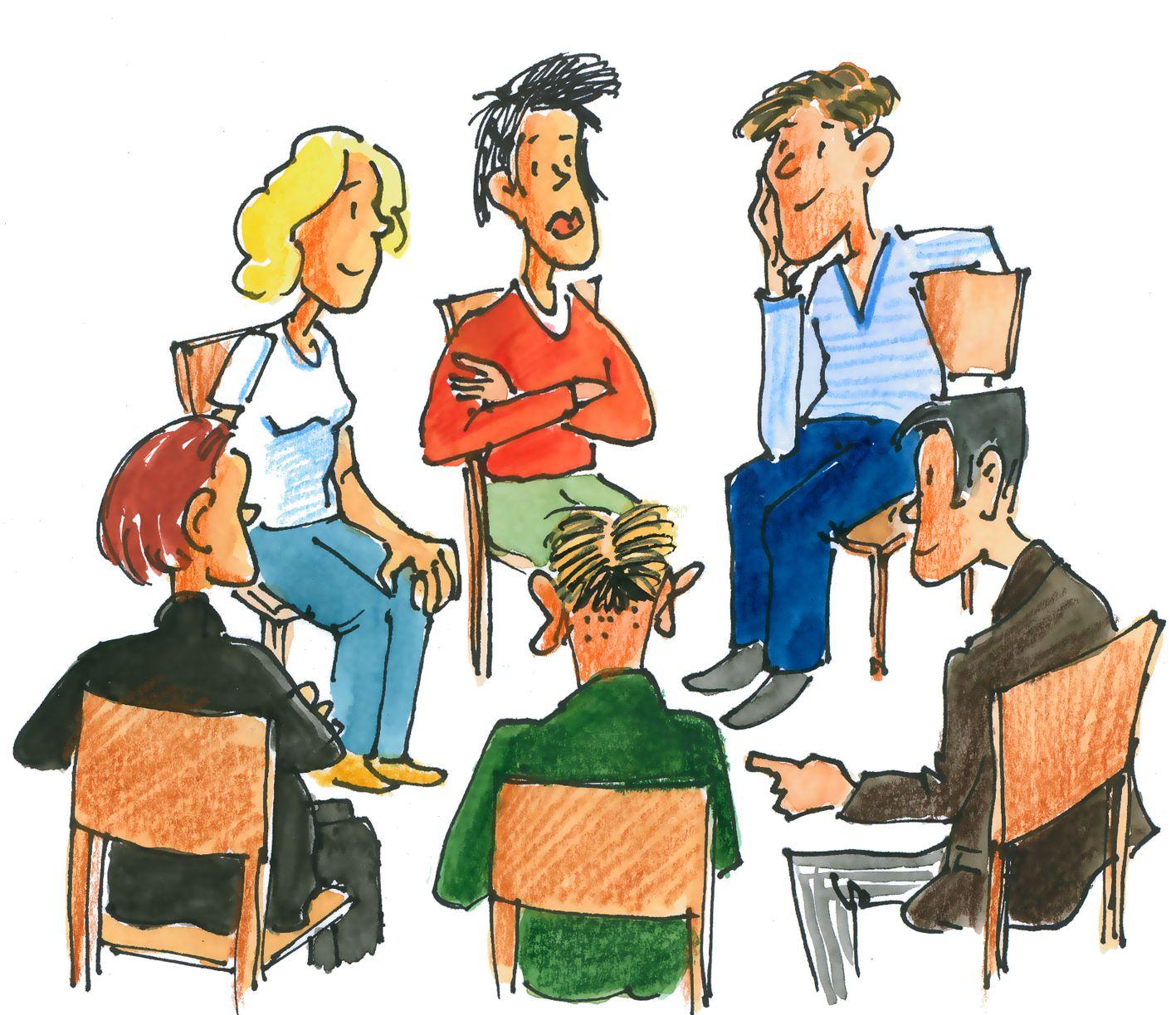 Kennenlernen in der gruppe