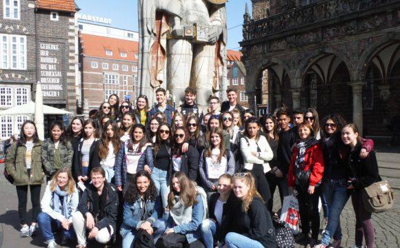 Eine tolle Woche mit den Gästen von unserer florentinischen Austauschschule