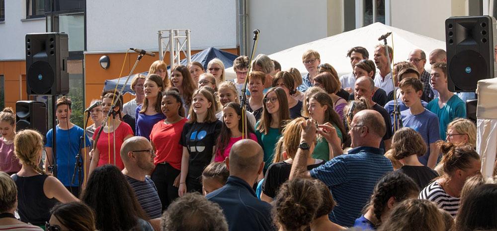 Der Chor auf Enddeckungsreise in Estland