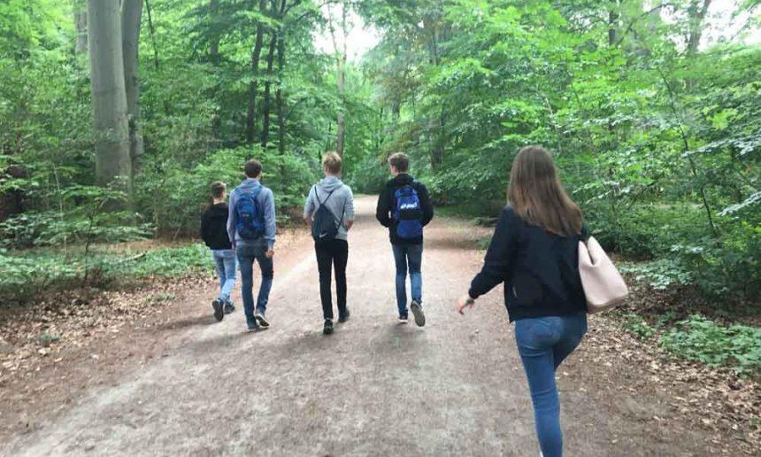 Mit Geocaching durch Hannover