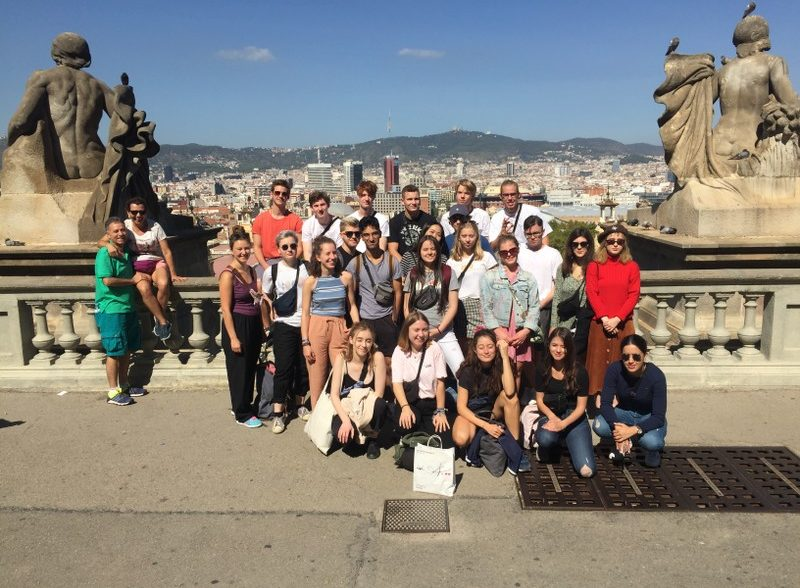 Studienfahrt nach Barcelona