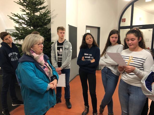 Besuch vom Bezirksrat Vahrenwald-List