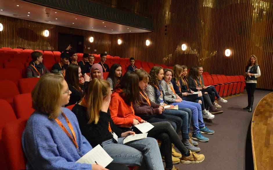 Wahlpflichtkurs Journalismus-Besuch beim NDR