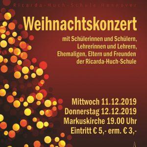 RICARDA! – Weihnachtskonzert 2019: Ausverkauft!