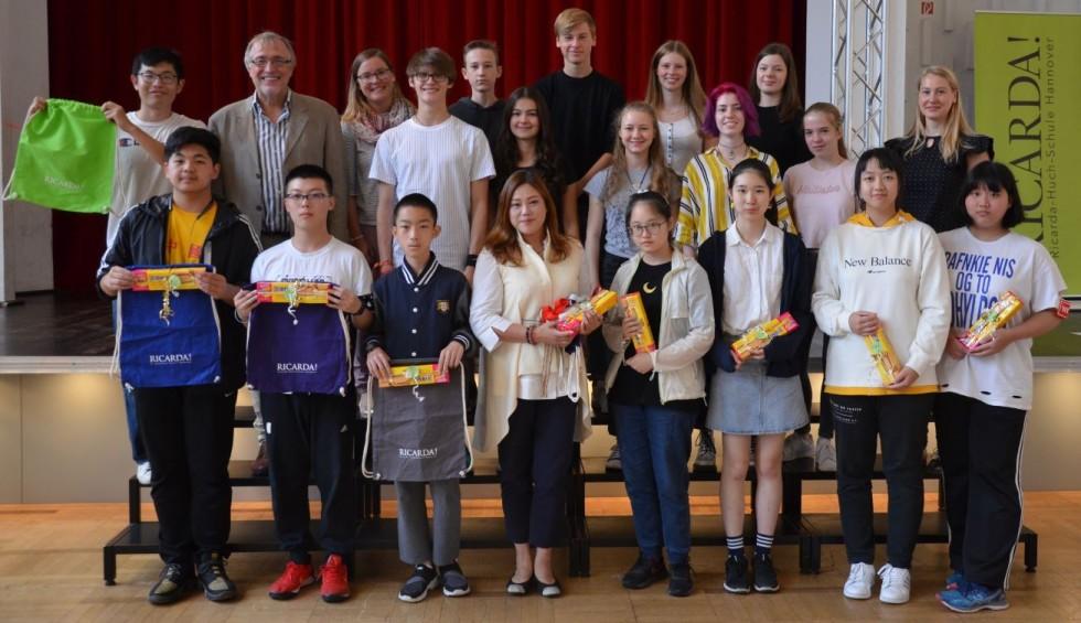 Besuch unserer chinesischen AustauschschülerInnen