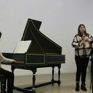 Britta M. bei Jugend Musiziert